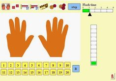 FREE!  Great computer game to work on subitizing and decomposing numbers!  Easy to customize and make easier or more challenging to meet the needs of all your learners.