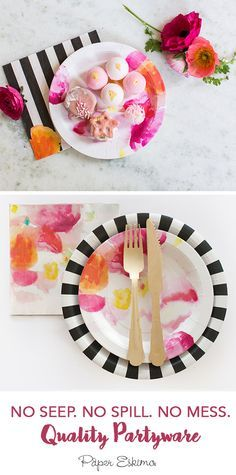 Making unique celebrations easier to throw, Paper Eskimo's high-quality designer partyware gives you more time to do the things you love.  Shop this look at papereskimo.com Forget the cleaning. Forget the planning. Remember the fun.
