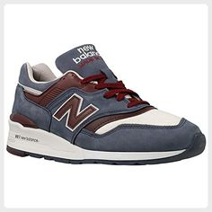 NEW BALANCE - Sneakers - Men - 997 Blue Leather Sneakers for men - US 9