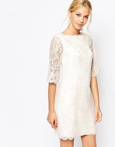 Ted Baker Laavia Wide Sleeve Dress in Lace from ASOS (see more in the EAD shop: http://www.elizabethannedesigns.com/blog/product/ted-baker-laavia-wide-sleeve-dress-in-lace/)