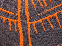 Nancy Crow: Structure #6, detail. - Art With a Needle: June 2011