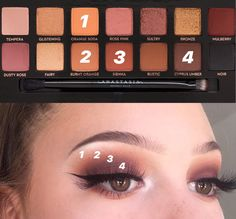 makeup for brown eyes Anastasia Beverly Hills soft glam palette look brown smokey eye Anastasia Beverly Hills weicher Glamour-Look, braunes, rauchiges Auge Glam Makeup, Skin Makeup, Eyeshadow Makeup, Clown Makeup, Makeup Geek, Halloween Makeup, Devil Makeup, Makeup Contouring, Witch Makeup