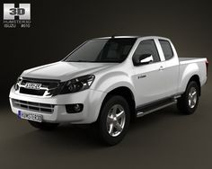 Buy Isuzu D-Max Extended Cab 2012 by on The model was created on real car base. It's created accurately, in real units of measurement, qualitatively and m. Nissan Navara D40, Tundra Truck, Isuzu D Max, Nissan Trucks, Car 3d Model, Panel Truck, Toyota Cars, Toyota Tundra, Toyota Land Cruiser