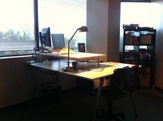 Ikea Galant Standing Desk