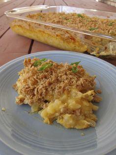 Funeral Potatoes - dairy-free, gluten-free, vegan, allergy-friendly