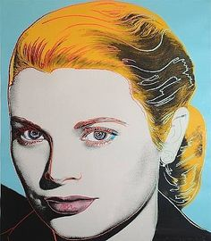 "Andy Warhol Andy Warhol Estate Rare 1989 Collector's Pop Art Lithograph Print "" Grace Kelly "" 1984 For Sale - Image 4 of 9 Andy Warhol Pop Art, Andy Warhol Museum, Andy Warhol Portraits, Roy Lichtenstein, Jasper Johns, Robert Rauschenberg, Jean Michel Basquiat, Art Pop, Jackson Pollock"