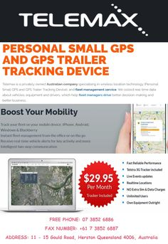 GPS vehicle trackers are invaluable tools for monitoring of vehicles. A real-time car tracking device gives you up-to-the-minute speed and location updates, including text or email alerts based on parameters you set.Manage your fleet from anywhere with the world's easiest GPS tracking system from Telemax.Contact us at 0738526886 or visit at http://goo.gl/ezvxNG