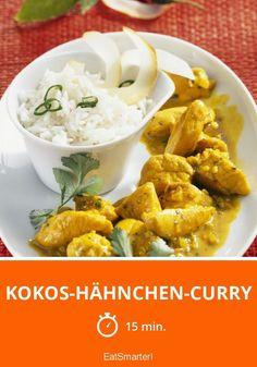 Kokos-Hähnchen-Curry - smarter - Zeit: 15 Min. | eatsmarter.de