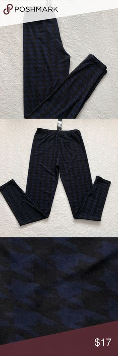 Ain't Nothing But a Hounding Navy Leggings S/M Soft & Stretchy Leggings S/M (4-12) Agnes & Dora Pants Leggings