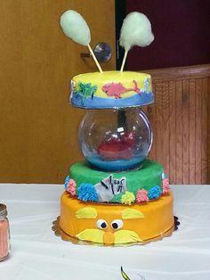 Dr. Seuss Baby Shower Cake!
