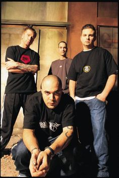 Staind...I've loved these guys since I was in junior high...their lyrics really spoke to me and I felt I could express a lot of my angst out through them...Aaron Lewis is a lyrical genius as well... :)