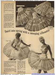 1962 Sears Spring Summer Catalog, Page 274 - Christmas Catalogs & Holiday Wishbooks Mommys Girl, Christmas Catalogs, Vintage Lingerie, Beautiful Lingerie, Back In The Day, Spring Summer, Disney Princess, Disney Characters, Holiday