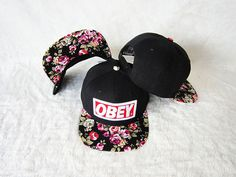 New arrival obey snapback hat for man and woman hip hop cap retailwholesale hat  100%COTTON $5.25