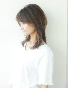 大人可愛い小顔セミディヘア(YR-317)   ヘアカタログ・髪型・ヘアスタイル AFLOAT(アフロート)表参道・銀座・名古屋の美容室・美容院