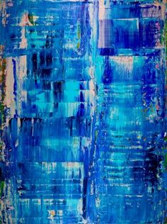 Buy Riada (Flash Floods), Acrylic painting by Nestor Toro on Artfinder. Discover thousands of other original paintings, prints, sculptures and photography from independent artists. Abstract Painters, Abstract Art, Field Paint, Action Painting, Abstract Expressionism Art, Blue Art, Western Art, Acrylic Painting Canvas, Original Paintings