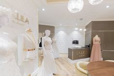 Wedding dresses salon. Project by Joanna SAFRANOW