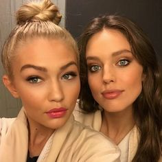 Gigi Hadid and Emily DiDonato