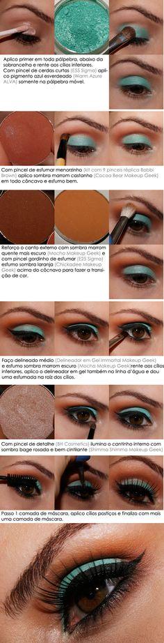 Cacau Make UP tutorial