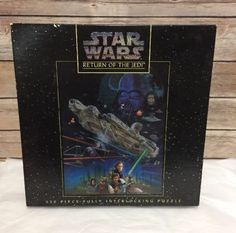 Star-Wars-Puzzle-Return-Of-The-Jedi-550-Piece-Jigsaw-18-x-24-inches-Sealed