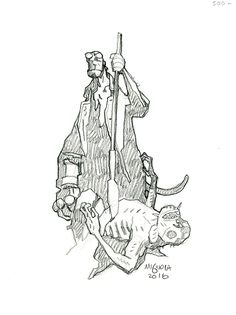 Art Gallery – Drawings – The Art of Mike Mignola