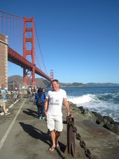 Fort Point in the background working....
