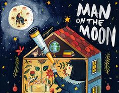 """Check out new work on my @Behance portfolio: """"Illustrations for John Lewis - Man On The Moon"""" http://on.be.net/1MkkIAf"""