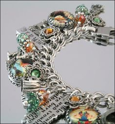 Halloween Jewelry Halloween Charms Charm by BlackberryDesigns, $123.00