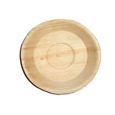 """Palm Leaf Round Bowl / Plate 7.8"""" - Posh Party Supplies"""