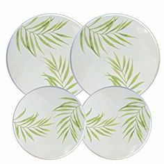 Amazon.com: Corelle Coordinates Burner Cover Set of 4, Bamboo Leaf: Kitchen & Dining