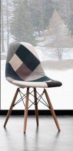 Sedia Oslo Patchwork Blue - Angolo Design