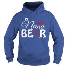 Nana Bear Nurse Lovers