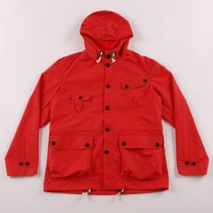 UNIVERSAL WORKS  SCOUT ANORAK - RED