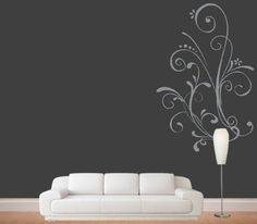 Amazon.com - Beautiful Accent Swirls Roommates Wall Decal Art Decor- Wall Art- Family Decal- Custom Wall Decal-wall Art- Wall Decals-wall De...