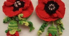 Вязанные крючком резинки для волос. Вязанные крючком цветы в волосы | | Вязание/Knitting | Pinterest | Masters and Html