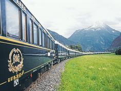 To truly take the scenic route, book passage on these trains that are as beautiful as the scenery they pass through.