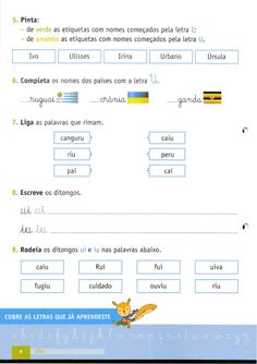282722852 a-grande-aventura-caderno-de-fichas-portugues-1ºano Fails, Map, First Year, 1 Year, Notebook, Activities, Lyrics, Location Map, Maps