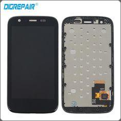 "4.3"" Black For Motorola MOTO G XT1032 XT1033 LCD Display Touch Screen Digitizer with Bezel Frame Full Assembly"