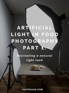 Light is the most fundamental and important element of your food photo, and this first part in a two part tutorial will show you how to use articifical light for food photography. Click to learn more. #foodstyling #foodphotography #foodblogger #foodblog
