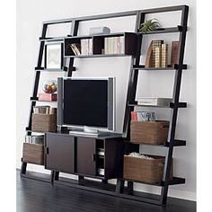 Crate & Barrel Sloane bookcase