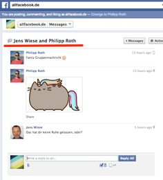Workaround: Gruppennachricht an Facebook Seiten schicken
