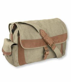 Sunwashed Canvas Messenger Bag: Shoulder Bags   Free Shipping at L.L.Bean