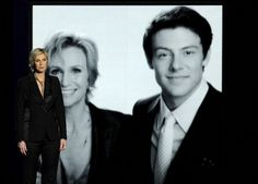 Jane Lynch gives tribute to Cory Monteith