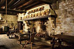 medievalfood Victorian kitchen Castles interior Old world kitchens