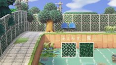 Animal Crossing Pc, Animal Crossing Qr Codes Clothes, Animal Crossing Pocket Camp, Animal Games, My Animal, Dreamland, Motifs Animal, Grid Layouts, Island Design