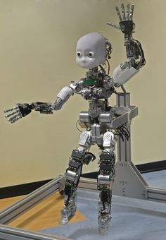 real robots | real robots to work with including one full humanoid as