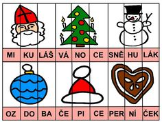 Pro Šíšu: Období ZIMA Advent, Montessori, Worksheets, Free Printables, Playing Cards, Games, Children, School, Speech Language Therapy