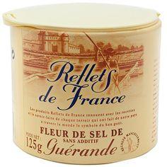 Reflets de France fleur de sel sea salt available at Ocado