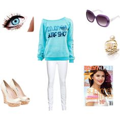 """""""cute school outfit"""" by meggyxoxo on Polyvore"""
