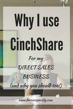 As a mompreneur, I need all the time I can get. CinchShare allows me to schedule tasks ahead of time to manage and run my direct sales business. Click to read why I use CinchShare and why you will love it too!