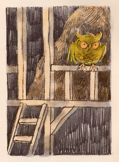 The Strange Disappearance of Arthur Cluck - written by Nathaniel Benchley, illustrated by Arnold Lobel Arnold Lobel, Owl Charms, Frog And Toad, Binky, Linocut Prints, Vintage Books, Drawing S, Illustration Art, Children's Books